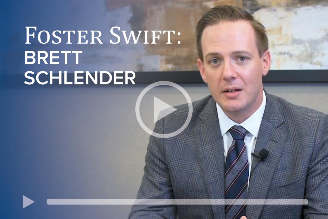 Attorney Brett Schlender