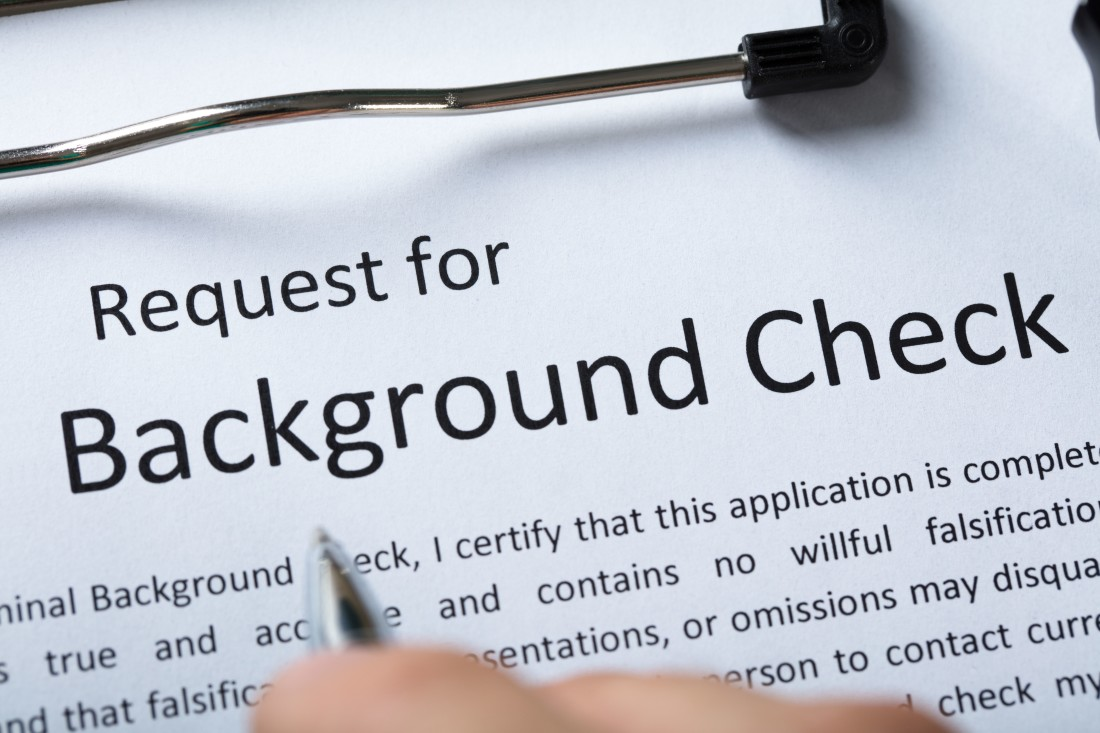 Background Checks Form