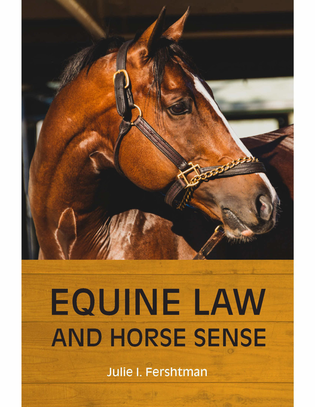 Equine Law and Horse Sense Book Cover