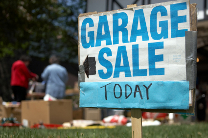 Garage sale picture