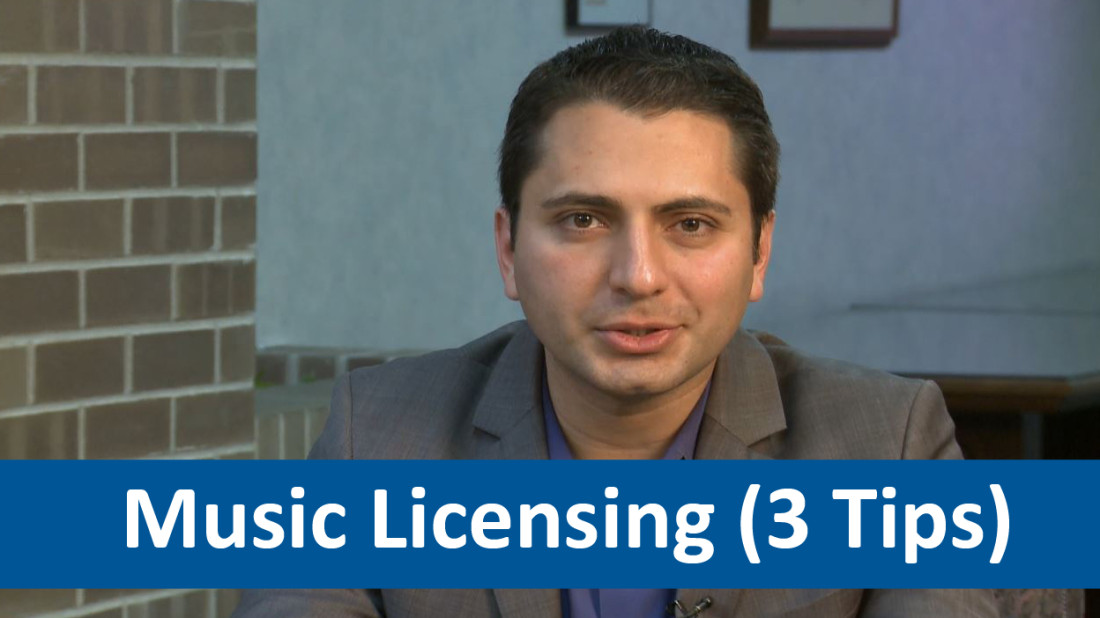 John Mashni talks about Tips for Licensing Music to be used in film.
