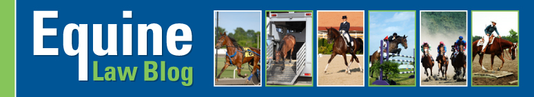 Visit Equine Law Blog