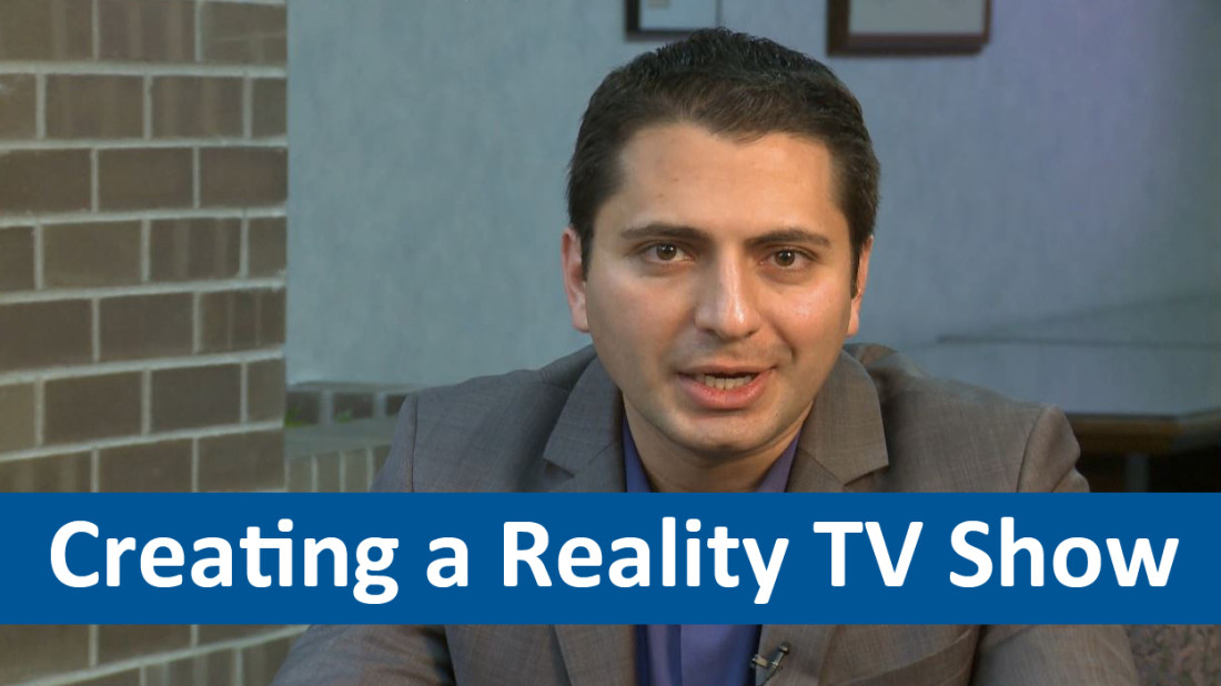 John Mashni discusses tips for creating a reality TV show.