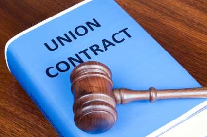 Union Contract and Gavel
