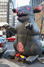 Union Inflatable Rat