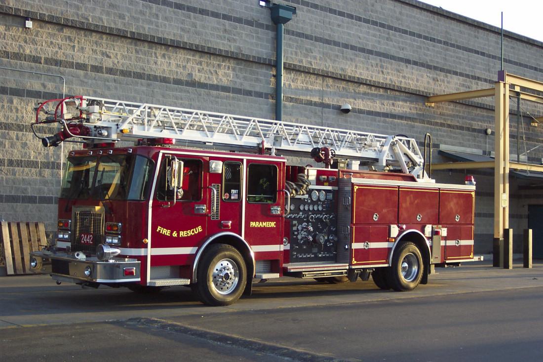 Firetruck First Responders